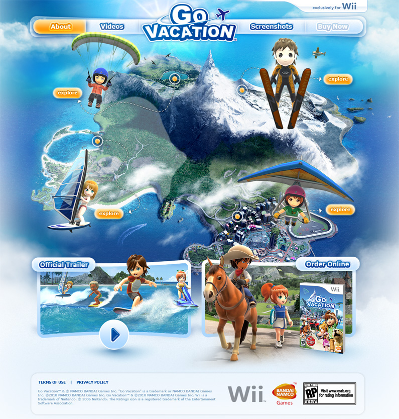 Go Vacation Wii U: Wii On Vacation Pictures To Pin On Pinterest