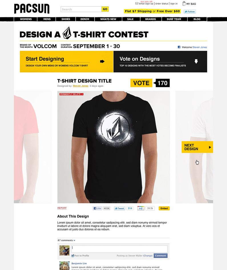 Angry Bear - PacSun T-Shirt Designer